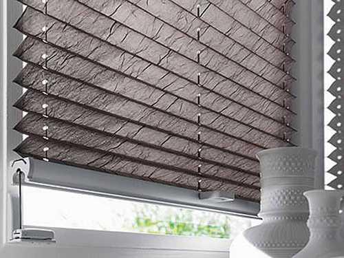 store plisse gris texture papier froissé