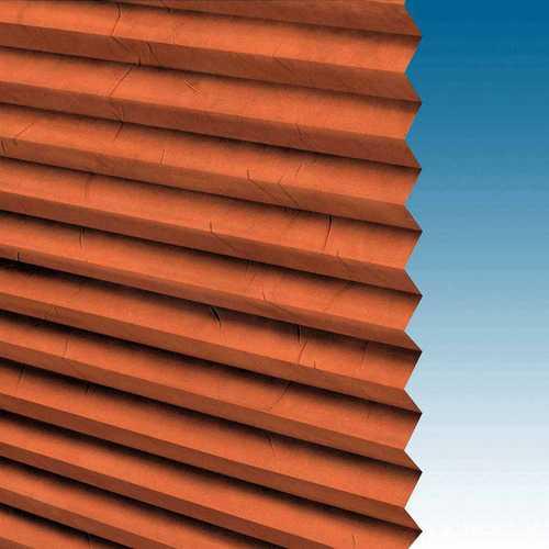 store plisse texture papier froissé marron
