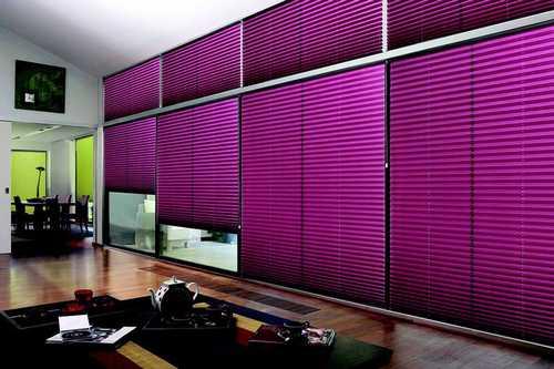 store plisse violet design