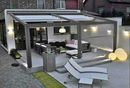 pergolas et stores ext rieurs autour du store 85. Black Bedroom Furniture Sets. Home Design Ideas