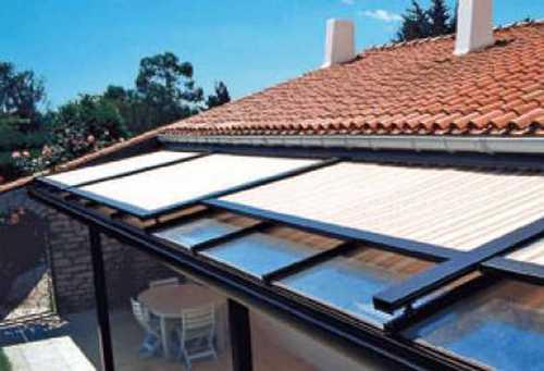 store pour toiture veranda sur mesure